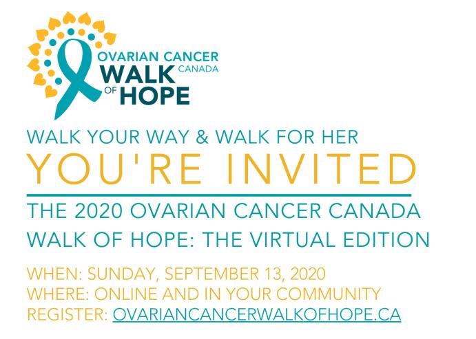 Ovarian Cancer Canada Walk Of Hope 101 5 The Wolf