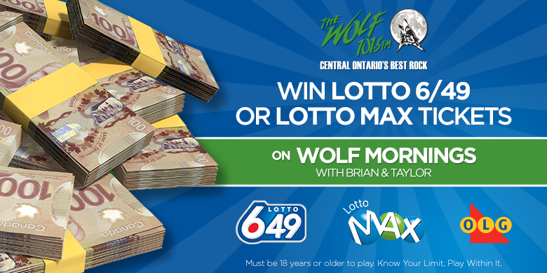 Win With Lotto 6/49 And Lotto Max