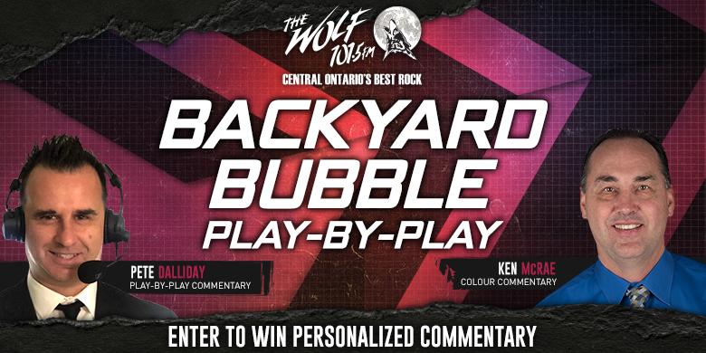 Backyard Bubble Play-by-Play